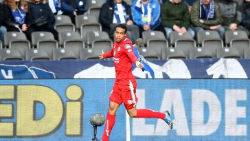 Robin Quaison has entered the final year of his contract with Mainz (Getty Images)
