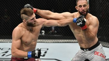 Jiri Prochazka in UFC action