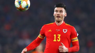 Kieffer Moore has been linked with a move to Derby County