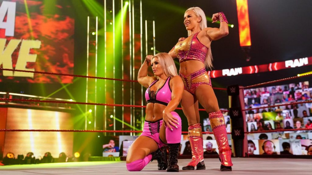 Dana Brooke and Mandy Rose have teamed up on Raw