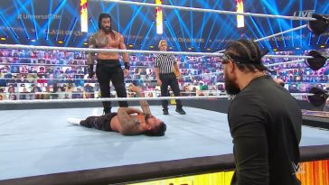 Roman Reigns destroyed his cousin Jey Uso at Clash of Champions 2020