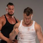 MJF attacked Jon Moxley ahead of All Out