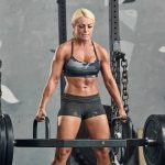 Mandy Rose posted this photo of her looking ripped on social media