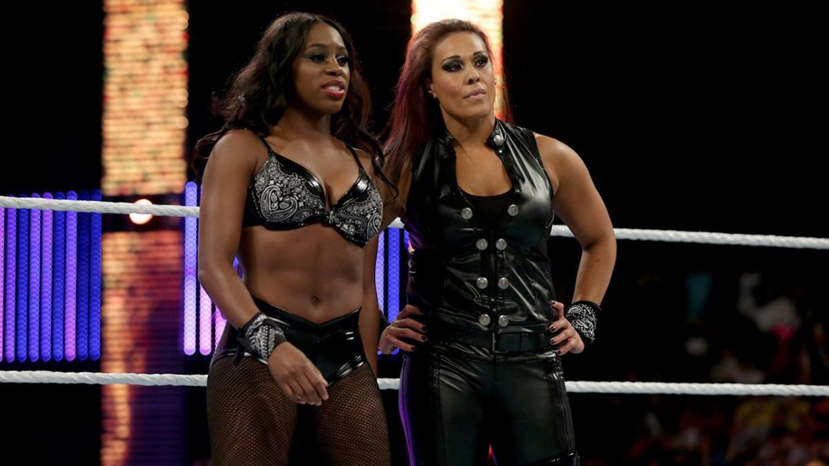 Tamina and Naomi reacted to the Roman Reigns vs Jey Uso fight at Clash of Champions