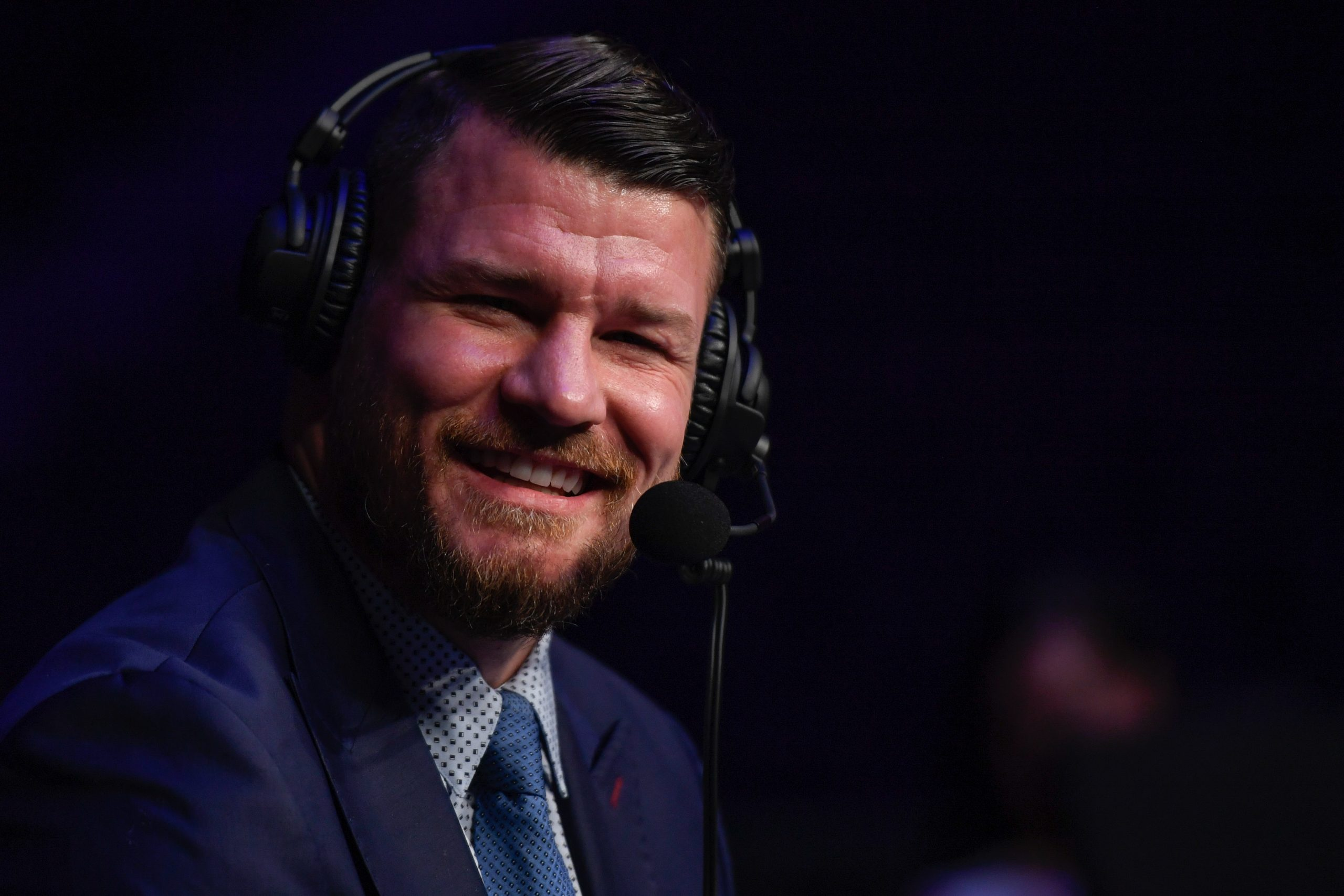 Michael Bisping is a commentator for the UFC but spent some time in prison too