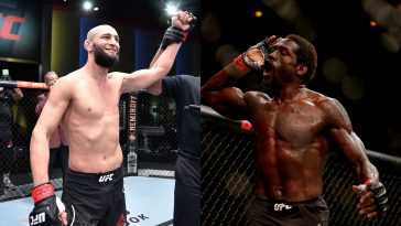 Jared Cannonier had some great words for Khamzat Chimaev