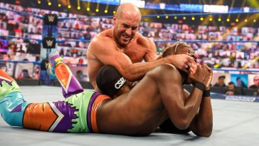 Cesaro faces Seth Rollins at WrestleMania 37