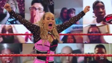 Lana picked up another shock win on WWE Raw