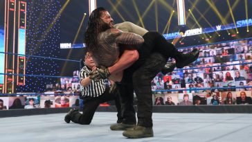 Roman Reigns brought out a new submission finisher on SmackDown