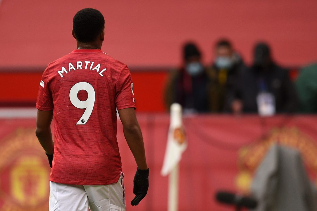 Anthony Martial Manchester United.