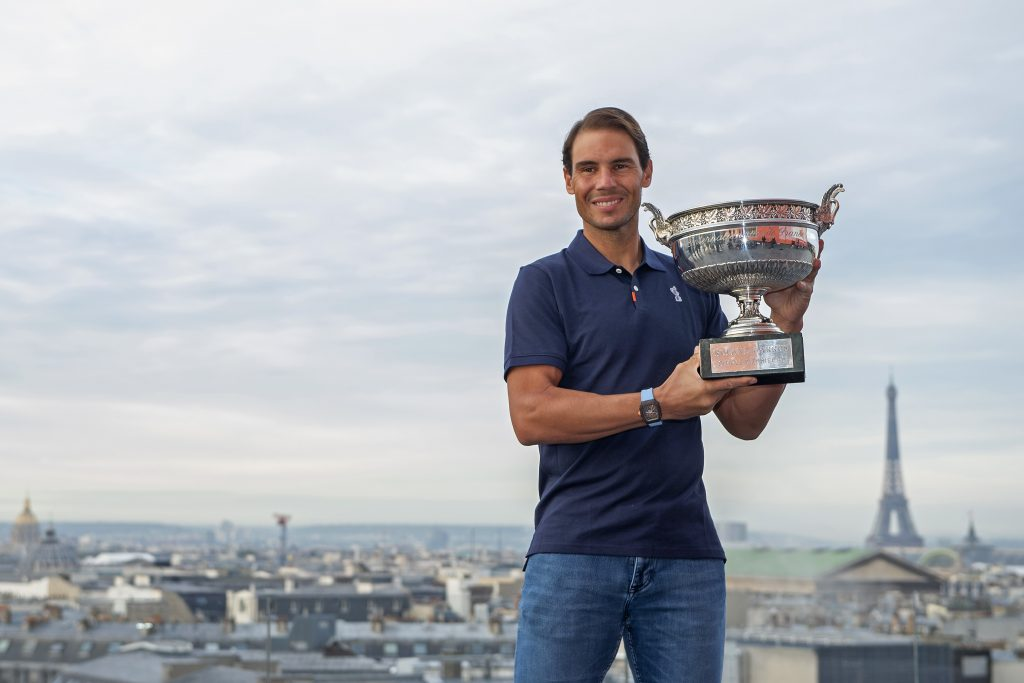 Rafael Nadal won another French Open title