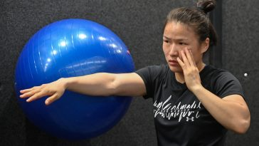Zhang Weili is the current Strawweight champion