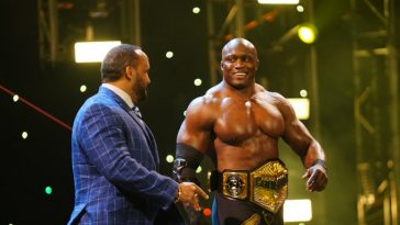 Bobby Lashley is one of the top starsin WWE
