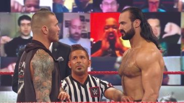 Drew McIntyre vs Randy Orton was the main even on this week's WWE Raw