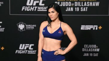 Rachael Ostovich was released by the UFC