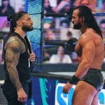 Drew McIntyre and Roman Reigns on SmackDown