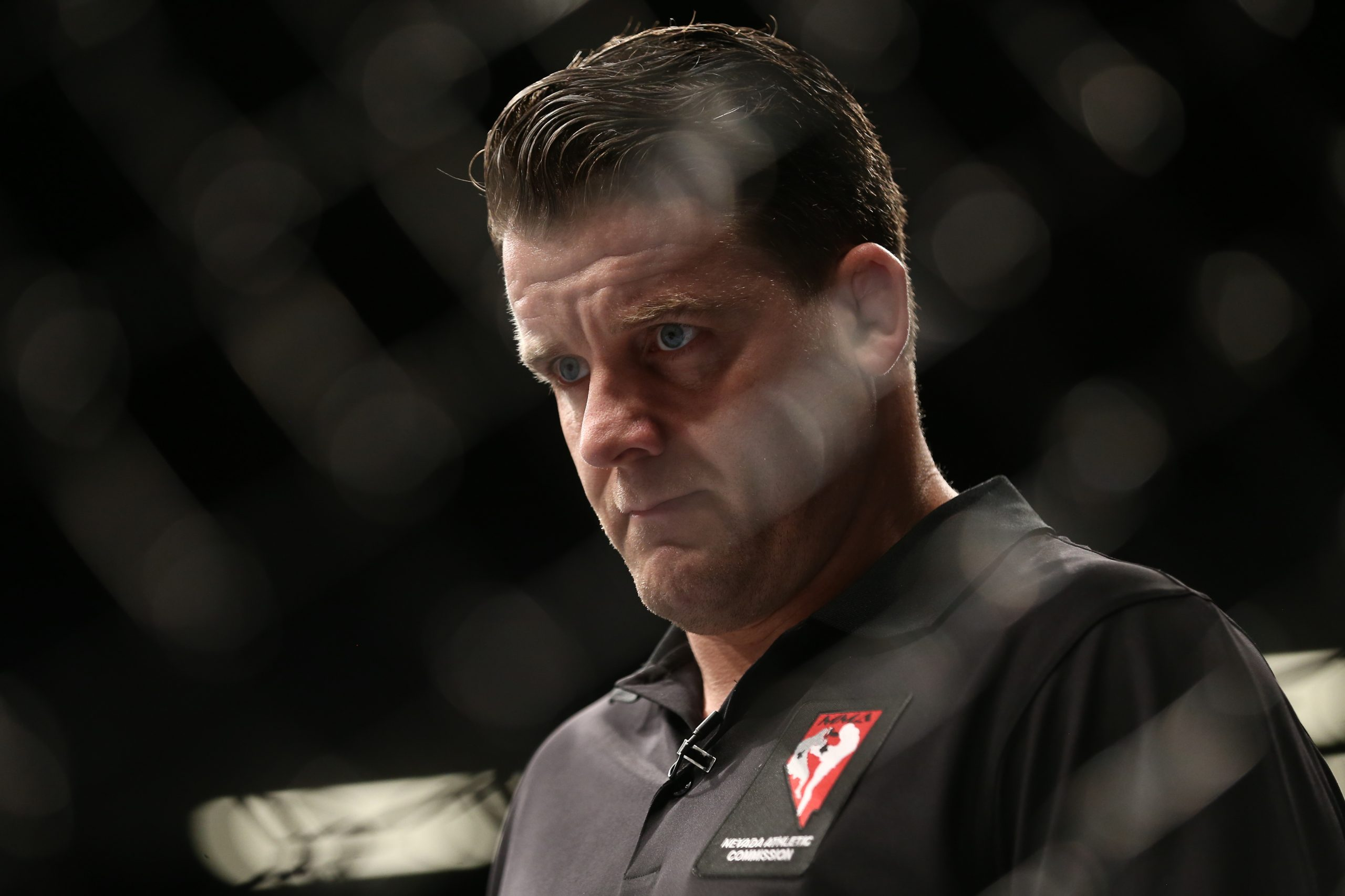 Marc Goddard is one of the top referees in the UFC