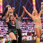 Charlotte and Asuka are the new tag champions