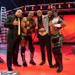 The Hurt Business celebrates after TLC 2020