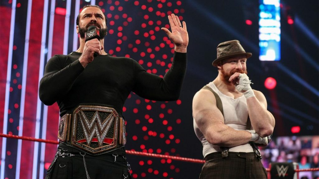 Drew McIntyre and Sheamus on Raw