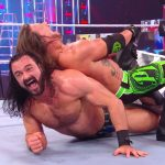 Drew McIntyre got the better of AJ Styles and The Miz at TLC 2020