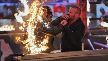 The Fiend takes on Randy Orton