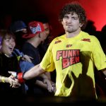 Ben Askren is a former UFC fighter. (Photo by Suhaimi Abdullah/Getty Images)