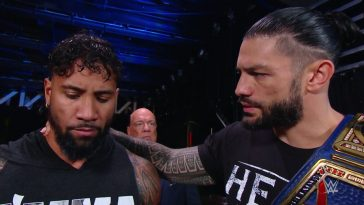 Roman Reigns was not happy with Jey Uso