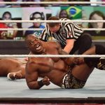 Shelton Benjamin was in action at TLC 2020