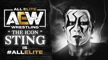 Sting joined All Elite Wrestling in a shocking move and made his debut at Winter is Coming