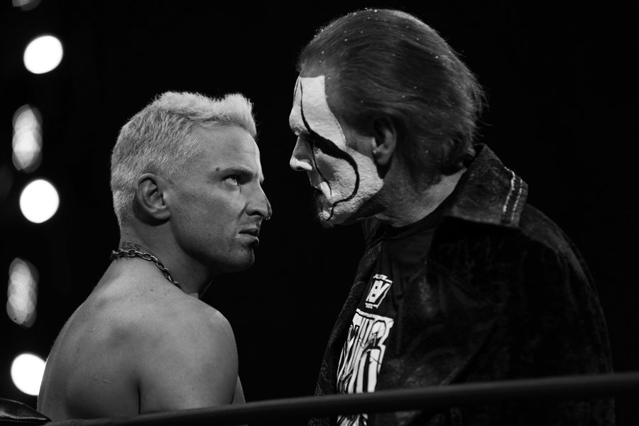 Sting made his AEW debut at Winter is coming