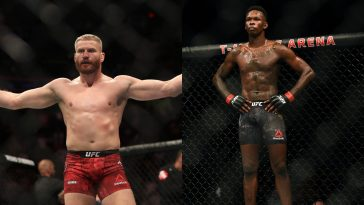 Israel Adesanya vs Jan Blachowicz will be for the Light Heavyweight title