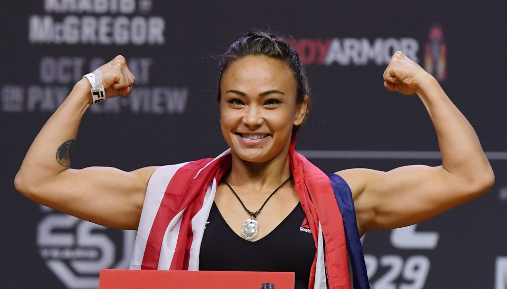 Michelle Waterson is known with the Karate Hottie nickname