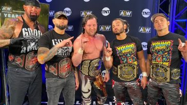 The Bullet Club is back on AEW Dynamite