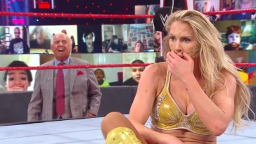 Charlotte Flair has not been happy with her father, Ric since he teamed up with Lacey Evans