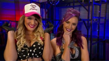 Lacey Evans and Peyton Royce are a tag team now