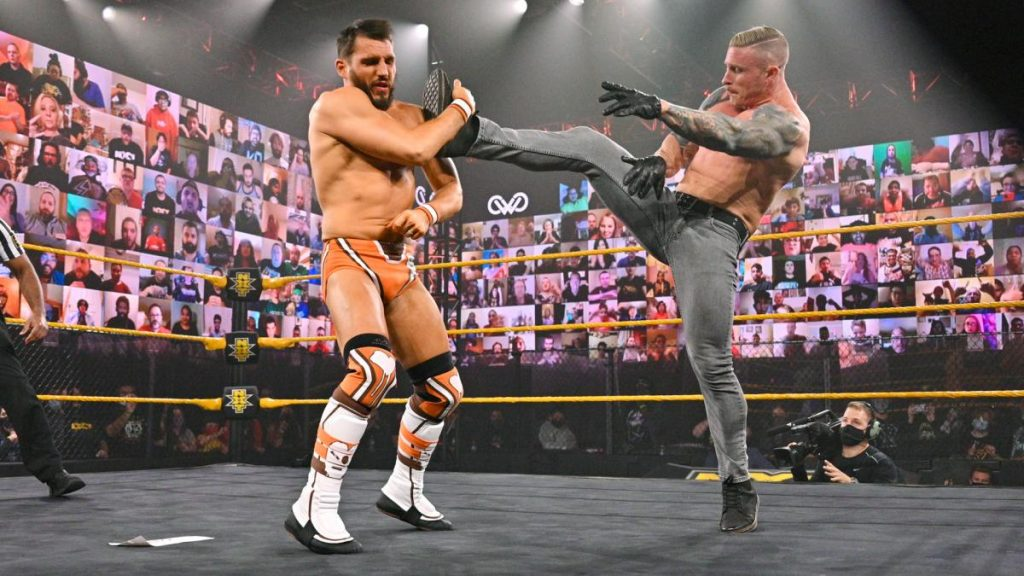 Dexter Lumis is one of the most  mysterious characters on NXT
