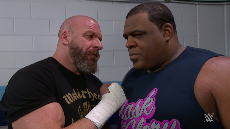 Triple H and Keith Lee on Raw