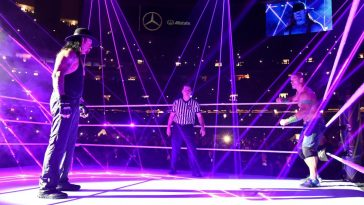 John Cena and The Undertaker met several times in WWE