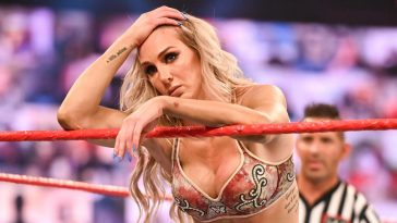 Charlotte Flair did not look happy on Raw