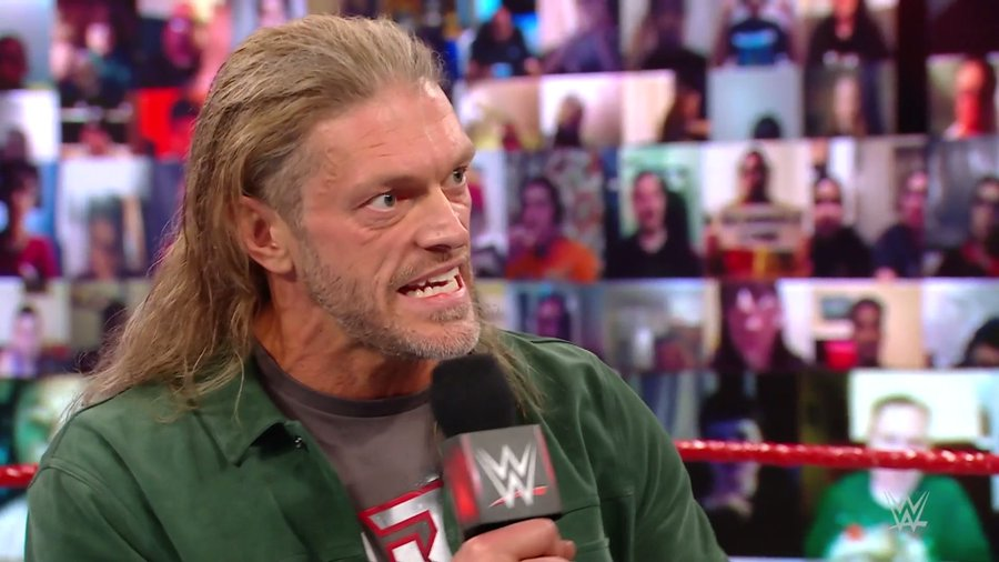 Edge could be the opponent of Roman Reigns at this year's WrestleMania 37.