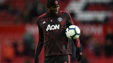 Romelu Lukaku in training for Manchester United. (GETTY Images)