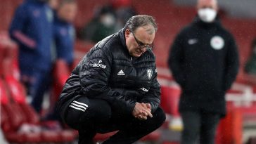 Marcelo Bielsa on the touchline for Leeds United. (GETTY Images)