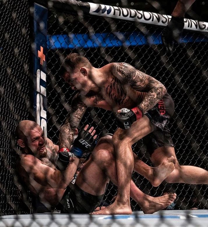 Dustin Poirier posted this photo from UFC 257