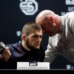 Dana White brings up Khabib Nurmagomedov when talking about who the MMA GOAT is. (GETTY Images)