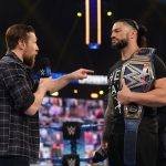 Roman Reigns and Daniel Bryan on SmackDown