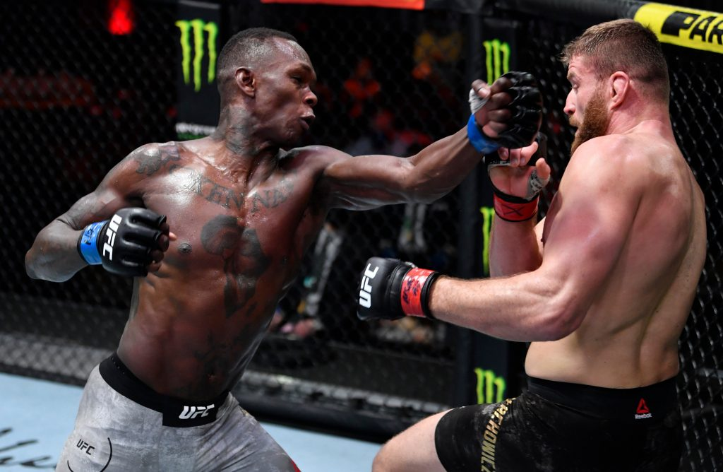 Israel Adesanya lost to Jan Blachowicz at UFC 259 after he had a 'bodyguard' misunderstanding.