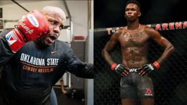 Daniel Cormier almost rained with Israel Adesanya