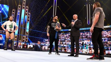 Roman Reigns faces Edge and Daniel Bryan at WrestleMania 37