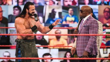 Drew McIntyre faces Bobby Lashley at WrestleMania 37 and shared his prediction